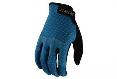 troy lee designs 2016 gants longs sprint bleu