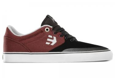 paire de chaussures bmx etnies marana vulc noir rouge