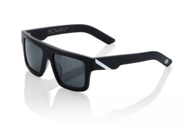 100 lunettes bowen noir mat blanc gris