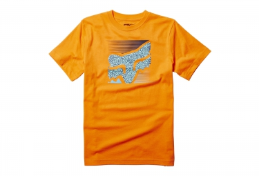 fox tee shirt enfant home bound orange