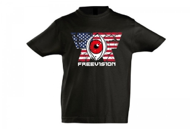 freevision t shirt enfant american idol noir