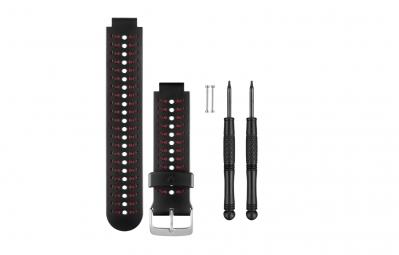 garmin bracelet forerunner 230 235 630 noir rouge