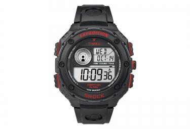 timex montre vibe shock noir rouge