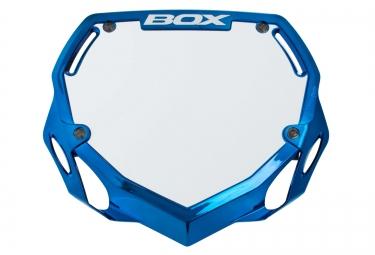 box plaque phase 1 bleu chrome