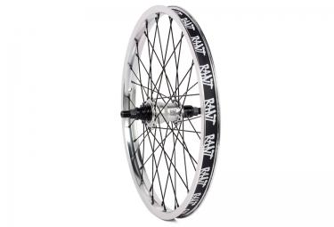 rant roue arriere freecoaster moonwalker rhd 9 dents argent