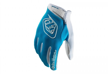 troy lee designs paire de gants longs gp air bleu