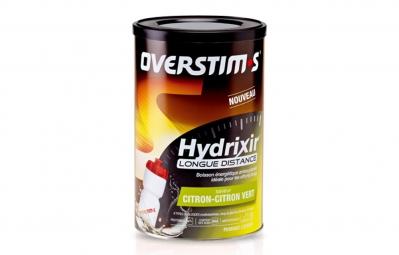 overstims boisson energetique hydrixir longue distance citron citron vert 600g
