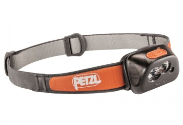 petzl lampe frontale tikka xp noir orange