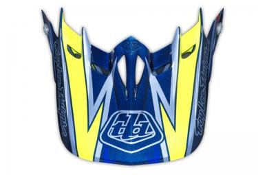 troy lee designs visiere d2 proven bleu jaune