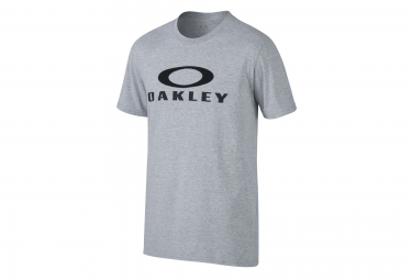 oakley tee shirt pinnacle coupe droite gris
