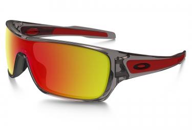 oakley lunettes turbine rotor grey ruby iridium ref oo9307 03