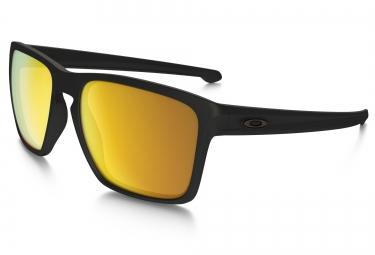 oakley lunettes sliver xl matte black 24k iridium ref oo9341 07