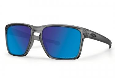 oakley lunettes sliver xl matte grey sapphire iridium ref oo9341 03