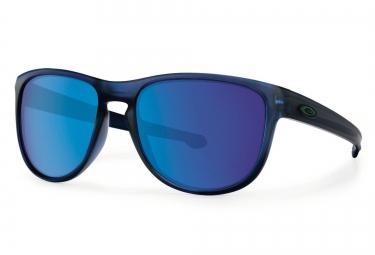 oakley lunettes sliver r matte trans blue iridium ref oo9342 09