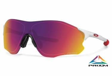 oakley lunettes evzero path blanc rouge prizm road ref oo9308 06