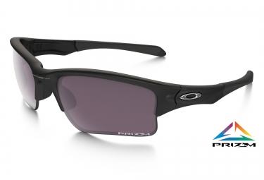 oakley lunettes quarter jacket prizm daily matte black prizm daily ref 009200 17