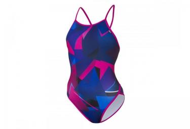 z3r0d maillot de bain 1 piece graphic bleu violet femme