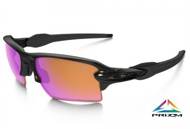 oakley lunettes prizm trail flak 2 0 xl black prizm trail ref oo9188 06