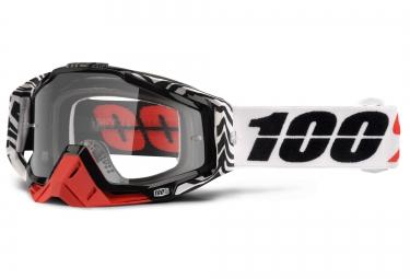100 masque racecraft zoolander noir ecran transparent