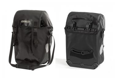 ortlieb paire de sacoches porte bagage arriere bike packer classic noir