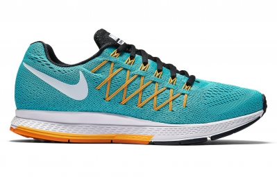 nike air zoom pegasus 32 bleu orange femme