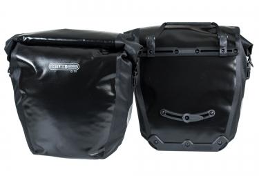ortlieb paire de sacoches porte bagage arriere back roller city noir