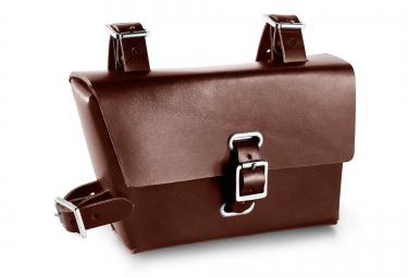 brooks sacoche de cadre b4 0 85 l marron
