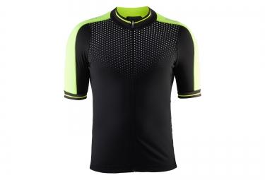 craft maillot perf glow noir jaune