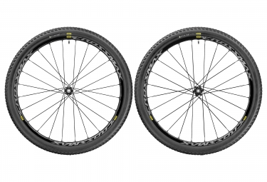 mavic paire de roues crossmax elite wts 27 5 15x100 12x142mm shimano sram pneu pulse