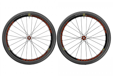 paire de roues mavic crossmax elite wts 27 5 15x100 12x142mm shimano sram pneu pulse