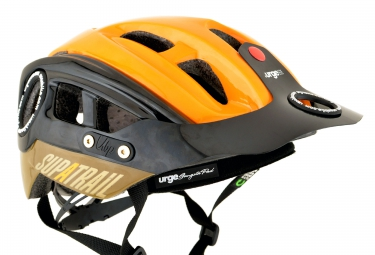 casque urge supatrail marron orange