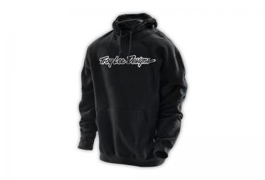 troy lee designs sweat a capuche signature noir