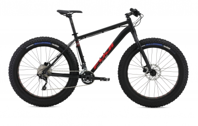 fuji 2016 velo complet fat bike 26 wendigo 1 1 noir rouge