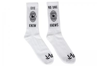 cult paire de chaussettes eye know blanc taille unique