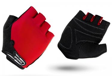 gripgrab gants courts enfant x trainer rouge