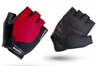 gripgrab gants courts progel rouge