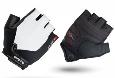 gripgrab gants courts progel blanc