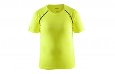 craft maillot enfant precise jaune fluo