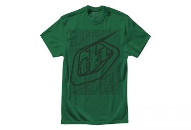 troy lee designs t shirt enfant highside htr kelly vert