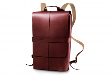 brooks sac a dos piccadilly leather bordeaux