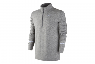 pull homme nike dri fit element gris