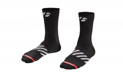 bontrager paire de chaussettes velocis 13cm noir