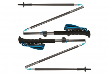 black diamond batons de trail distance carbon flz gris