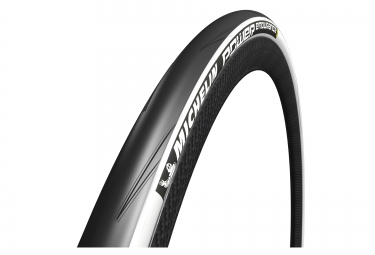 michelin pneu power endurance 700 mm souple blanc
