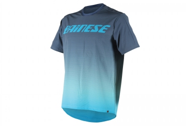dainese maillot manches courtes driftec bleu