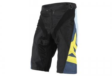dainese short hucker noir jaune
