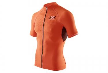 x bionic maillot the trick bike orange
