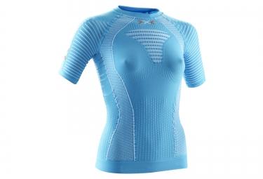 x bionic maillot effektor bleu femme