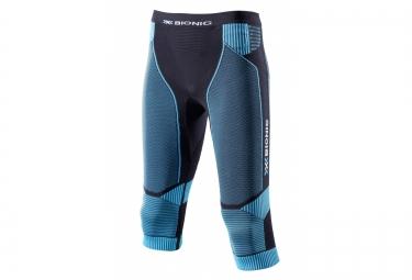x bionic short de compression effektor noir bleu femme