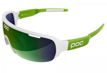 poc lunettes do half blade blanc verre iridium